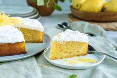 Oppskriften på denne italienske drømmen av en kake får du her. Cake Recipes, Dessert Recipes, Desserts, Let Them Eat Cake, No Bake Cake, Cornbread, Vanilla Cake, Cheesecake, Good Food