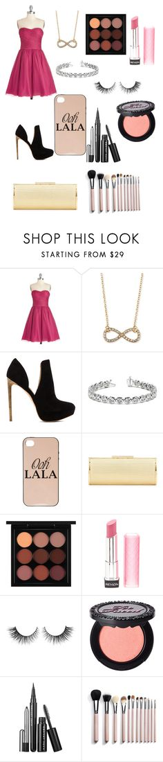 """""""Bored at 2:35am"""" by chloe950 ❤ liked on Polyvore featuring Jules Smith, Rachel Zoe, Allurez, dELiA*s, Badgley Mischka, MAC Cosmetics, Revlon, Rimini, Too Faced Cosmetics and Marc Jacobs"""