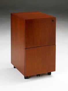 stella series wood veneer pedestal filefile available in toffee finish on birch office birch office furniture
