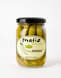 Matiz Piparras Spanish Basque Peppers 6.4 oz jar >>> Check out this great image @ : Quick dinner ideas