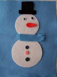 Build a snowman game!  Roll the die to be the first to get all ten of your snowman parts.  Love it!