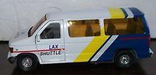 1:43 LAX Shuttle Ford Econoline Van E350 Club Wagon Los Angeles Airport