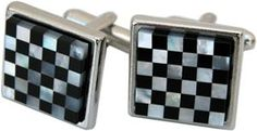 Cuff Links Onyx and Pearl Great Gift for Men www.classiclegacy.com