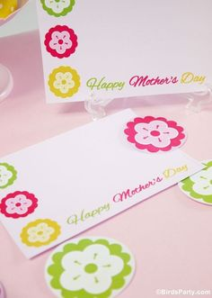 FREE Mother's Day Printables with OnlineLabels.com by Bird's Party #FreePrintables #MothersDay