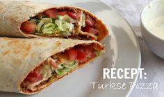 Snellere versie van Turkse pizza (Lahmacun)