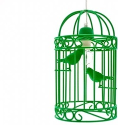 BIRDCAGE PENDANT LAMP from Dutch by Design