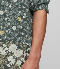 REISS - MARCIE FLORAL PRINTED SHIRT