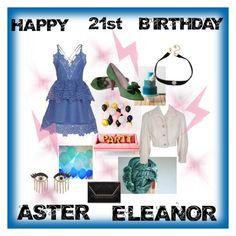 Aster Eleanor: 21st Birthday by annajekel on Polyvore featuring Sydney Evan and ABS by Allen Schwartz