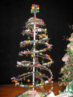 The 12 geek trees of christmas christmas tree ideas or not the modern christmas tree is more than a thing to put presents under its a representation of your tastes your hobbies even your personality mash up so sciox Gallery