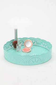 Cut Lace Vanity Tray via Urban Outfitters