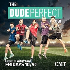 Our series airs on NickToons TONIGHT & every Friday! TUNE IN & WATCH if u missed the Bass-elor Party episode last night!  by dudeperfect