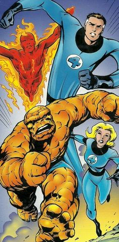 Fantastic Four by Alan Davis Comic Book Artists, Comic Book Characters, Comic Book Heroes, Comic Artist, Comic Character, Comic Books Art, Dc Comics, Marvel Comics Superheroes, Marvel Girls