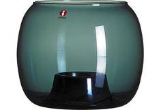 Iittala Kaasa kynttilälyhty 141x115 mm, harmaa - Sokos verkkokauppa Corning Glass