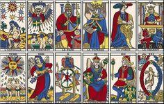 Tarot de Marseille restaurado por Kris Hadar
