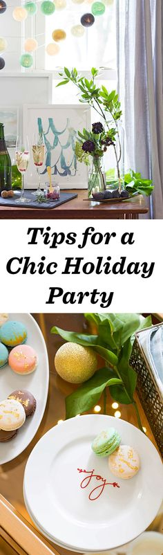 Airy colors and versatile pieces make Michigan designer Kelly Ventura's party a refreshing reprieve from the usual holiday decor: http://www.midwestliving.com/holidays/christmas/chic-and-simple-holiday-party/