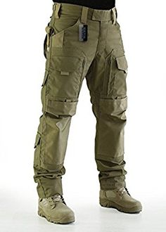 ZAPT Breathable Ripstop Fabric Pants Military Combat Multi-Pocket Molle Tactical Pants with EVA Knee Pads Mens Tactical Pants, Tactical Wear, Tactical Clothing, Tactical Gear Canada, Survival Clothing, Combat Pants, Mens Combat Trousers, Camo Pants, Motorcycle Pants
