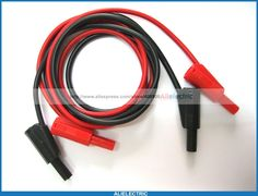92.00$  Buy here - http://alitxh.worldwells.pw/go.php?t=1686936207 - 12 Pcs Safety Protection Banana Plug Silicone Cable High Voltage Red Black  92.00$