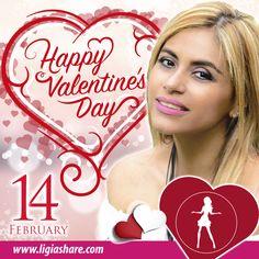 Feliz día de #SanValentin que el #amor y la #amistad perduren por siempre en nuestras vidas. Disfrutenlo!!  Happy #ValentinesDay that #love and #friendship will last forever in our lives. Enjoy  www.ligiashare.com  #DiadeSanValentin #DiadelAmoryAmistad #HappyValentine #valentines #14defebrero #parejas #novios #enamorados #Diadelosenamorados #amoryamistad #couples #girlfriend #boyfriend