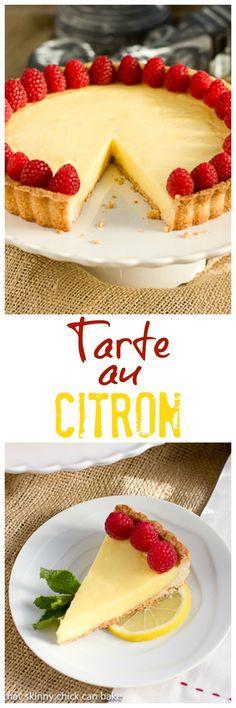 Tarte au Citron   An exquisite lemon dessert @lizzydo