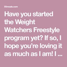 "Have you started the Weight Watchers Freestyle program yet? If so, I hope you're loving it as much as I am! I lost 100 pounds and am on my way to losing another 50, by eating delicious food like these ZERO point Pancakes. I love this program so much, because there's no ""you can't eat that""… you can […]"