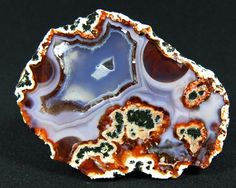 Agate Polished Specimen from Zaer Zaiane Morocco AS087 Achat Marokko | eBay