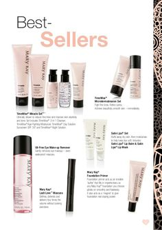Top sellers for Mary Kay!!!!