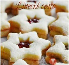 Linecké cesto Christmas Baking, Christmas Cookies, Sweet Recipes, Ham, Waffles, Recipies, Good Food, Food And Drink, Cooking Recipes