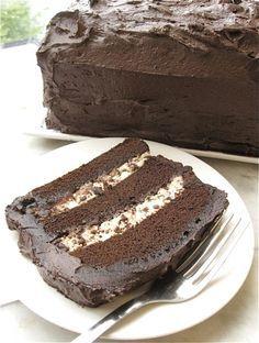 HOLY CRAP I need to make this ASAP! Recipe: Chocolate Cassata