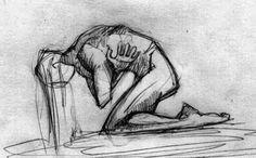 : Mantendo o controle Creepy Drawings, Dark Art Drawings, Art Drawings Sketches, Arte Grunge, Vent Art, Arte Obscura, Sad Art, Art Reference Poses, Art Sketchbook