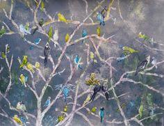 Parakeet Rainbow   Sharon Giles