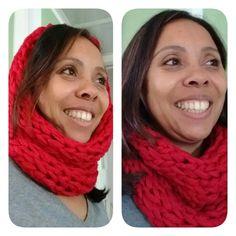Maxigola em tricô feita a mão ▶️ R$ 49,90 (comprando duas o frete é grátis) 😉 ➡️ Tamanho único  ➡️ PRONTA ENTREGA ➡️ Pedidos por e-mail ou Whats. ➡️ Deixe seu contato nos comentários ou inbox ✈️ Enviamos pra todo Brasil. #winter #inverno #handmada #modafeminina #goladelã #cachecol #feitoamão #lã #newin #novidade #colors #fashion #instafashion #fashionista #colorlovers #ecommerce #produtounico #inverno2016 #gola #knit #meinspira