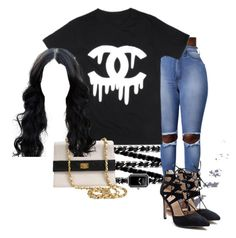 """""""Untitled #622"""" by jadab521 ❤ liked on Polyvore featuring Chanel"""