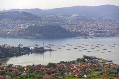 Ría de Vigo. Galicia. Spain