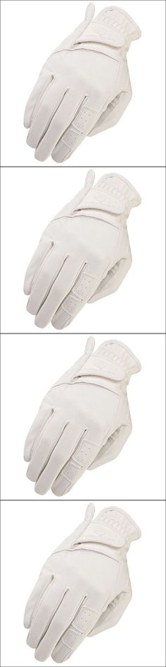 Riding Gloves 95104: 07 Size Heritage Gpx Show Horse Riding Equestrian Glove Leather White -> BUY IT NOW ONLY: $36.99 on eBay!