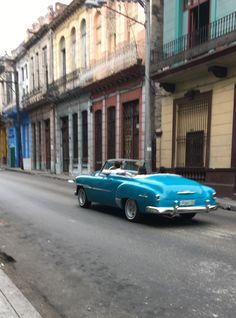 Cafés in Havana.