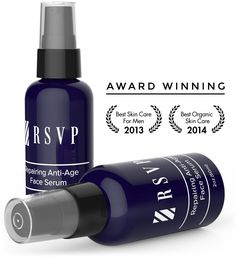 RSVP Anti Aging Face Serum for Men - Natural Organic Antioxidant Rich Formula to Fight Age Spots and Free Radicals - Preserves Collagen and Reduces Wrinkles and Fine Lines - Safe for Sensitive Skin ** This is an Amazon Affiliate link. Check out this great product.