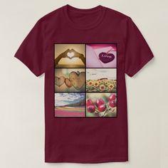 Trendy Modern Custom Photo Collage T-Shirt https://www.Zazzle.com/z/gi6gx?rf=238325954567677810