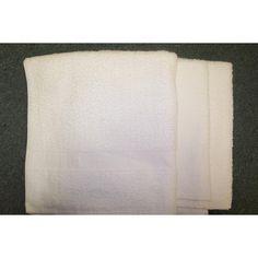 DollarDays.com: Terry White Bath Towel 22 x 44