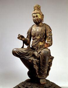 東京国立博物館 - コレクション 名品ギャラリー 彫刻 日光菩薩踏下像(にっこうぼさつふみさげぞう)
