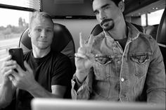Radio-bsb: Fotos + Tweets: BSB + Brian + Nick