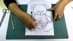 DIY Como elaborar moldes para Fomi, Goma Eva, Microporoso, Easy Crafts
