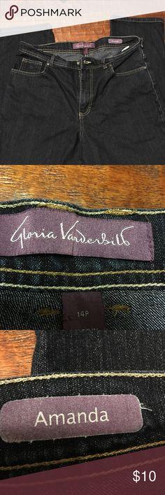 Gloria Vanderbilt BootCut Jeans size 14p Gloria Vanderbilt BootCut Jeans size 14p EUC Prewashed Please feel free to make an offer! Lot 8 Gloria Vanderbilt Jeans Boot Cut