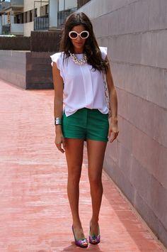 Journée Colorée ( Sunglasses & Silk Shirts & Blouses ) with Farah Farabian