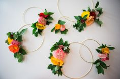 Flower Wreath Wall D
