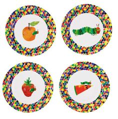 Hungry Caterpillar Happy Birthday 9\'\' Paper Plates | 8ct for $4.77 ...