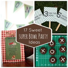 Get the party started at YOUR house with these great ideas!