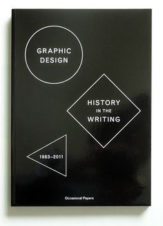Graphic Design - History in the Writing