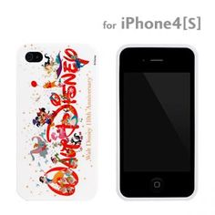 Disney 110th Anniversary TPU Cover for iPhone 4S/4 (Celebration)