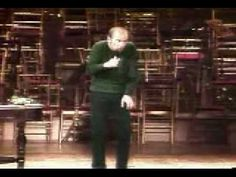 "▶ George Carlin ""Cats and Dogs"" - ""What's that? Not me. Fuck that, I'm a cat."""