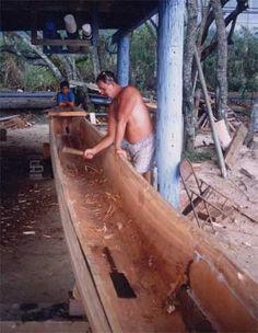 ancient hawaiian canoe building - Google Search Canoe, Hawaiian, Google Search, Building, Maori, Buildings, Construction